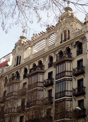 Dos edificios de J. A. de Agreda