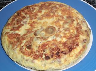 Tortilla de cocido a la madrileña