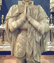 La estatua de Pedro I