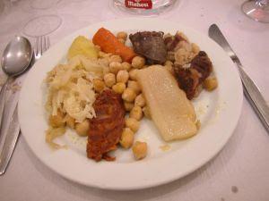 El cocido madrileño- 3