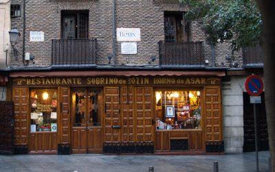 Botín, el méson más típico de Madrid.