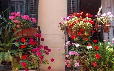 Balcones en la calle Lope de Vega
