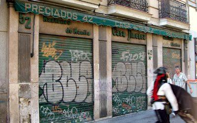 Recuerdo de Casa Jiménez, en Preciados, 42.