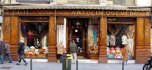Recuerdo de Gil, la tienda más bella de la Puerta del Sol.
