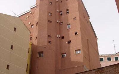 El torreón de la calle Escalinata