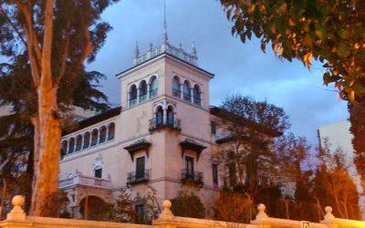 El palacete de La Trinidad.
