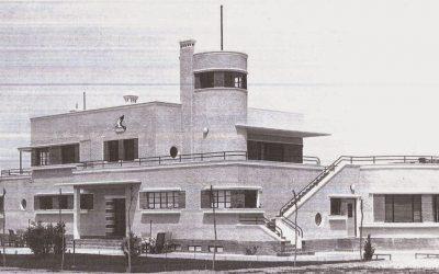 Orígenes del aeropuerto de Barajas, 2: «El Avión-Club».