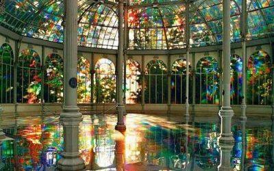El Palacio de Cristal de Madrid, como un caleidoscopio