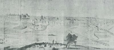Vista de Madrid, cuando fue nombrada capital