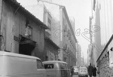 La calle de Amaniel en el pasado