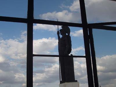 La estatua de Minerva