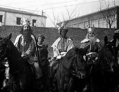 La cabalgata de Madrid, breve historia.