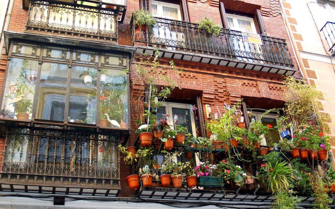 Balcones de Madrid: Lo bello y lo útil