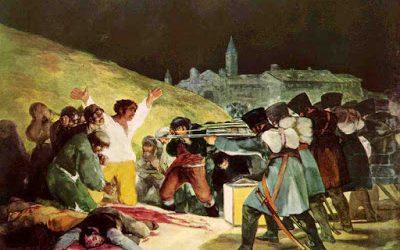 ¿Dónde se fusiló a los héroes madrileños el 3 de Mayo de 1808?