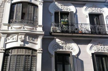 Modernismo en la calle Atocha