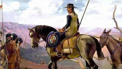 De cuando España descubrió y conquistó los actuales Estados Unidos.