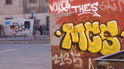 El problema de las pintadas en Madrid.