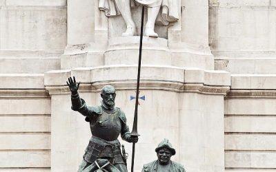 ¿Por qué no se deben cambiar de sitio las estatuas de don Quijote y Sancho?