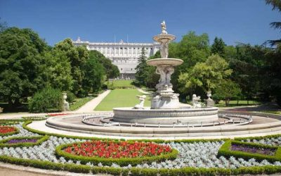 Visitas guiadas por los parques de Madrid.