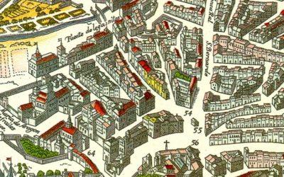 Del mapa de Witt al mapa de Texeira.