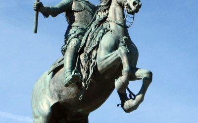 La leyenda urbana de las patas de los caballos.
