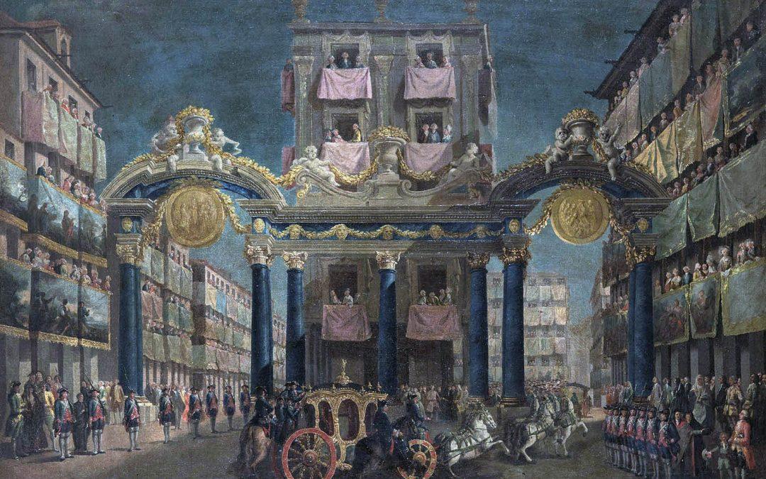 Entrada de Carlos III en Madrid