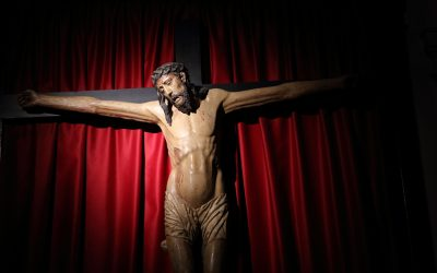 Cristo gótico de la Buena Muerte.